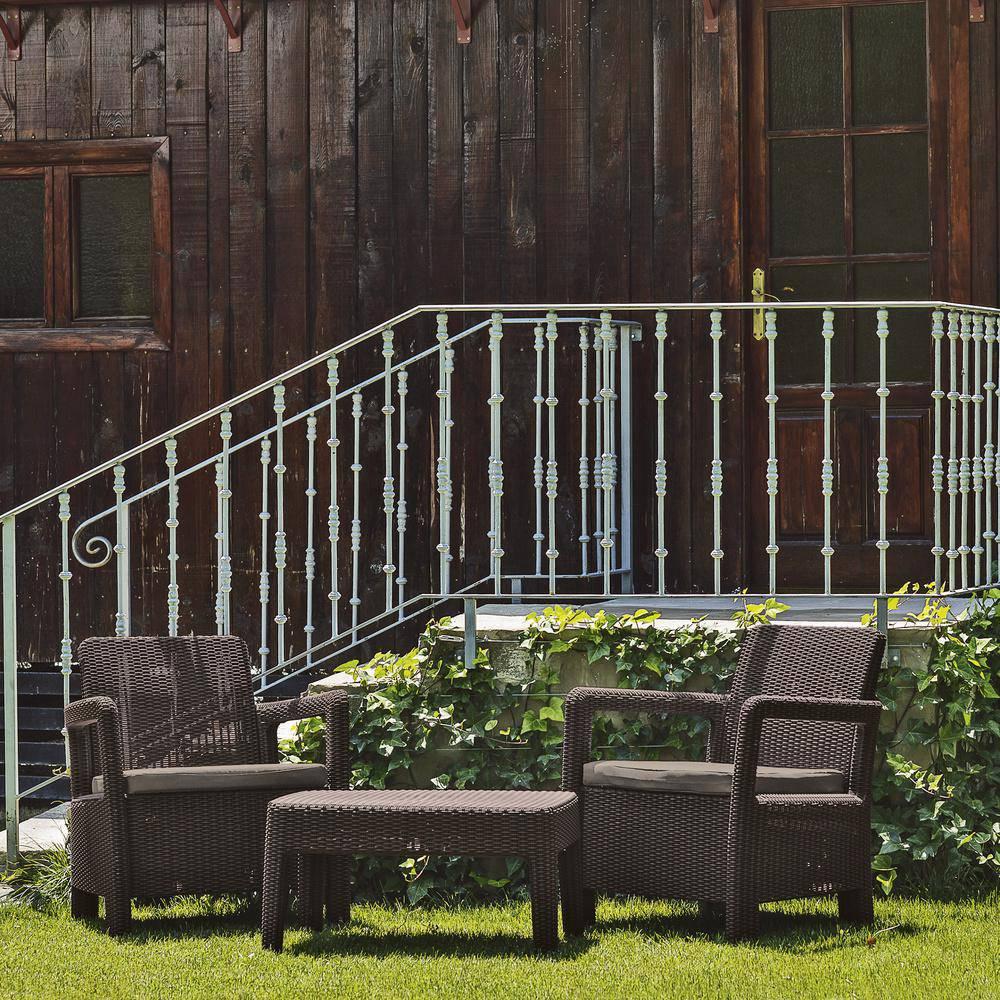 Zestaw mebli ogrodowych z tworzywa sztucznego  TARIFA ALLIBERT