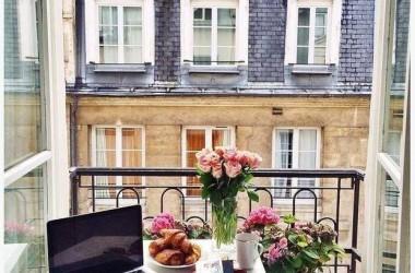Balkon – ogródek w centrum miasta