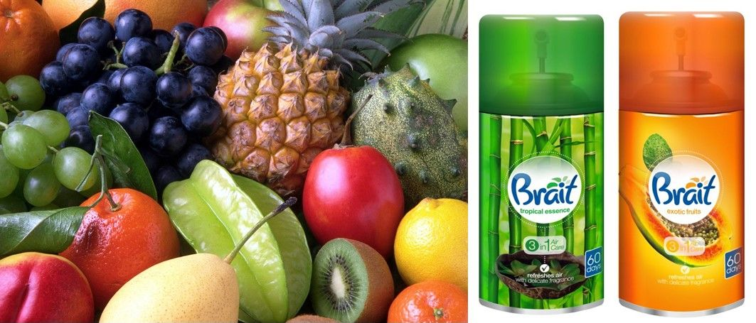 Zapach Brait owocowy