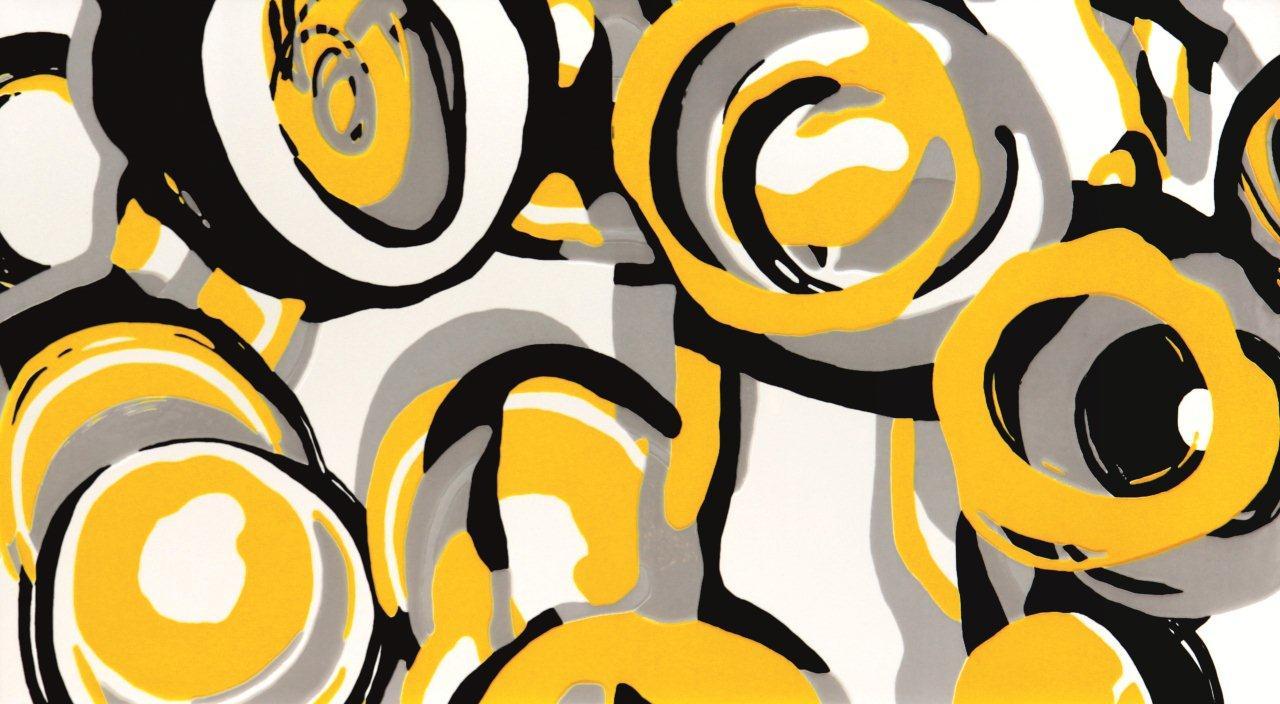 Dekor z kolekcji Colour Yellow Tubądzin
