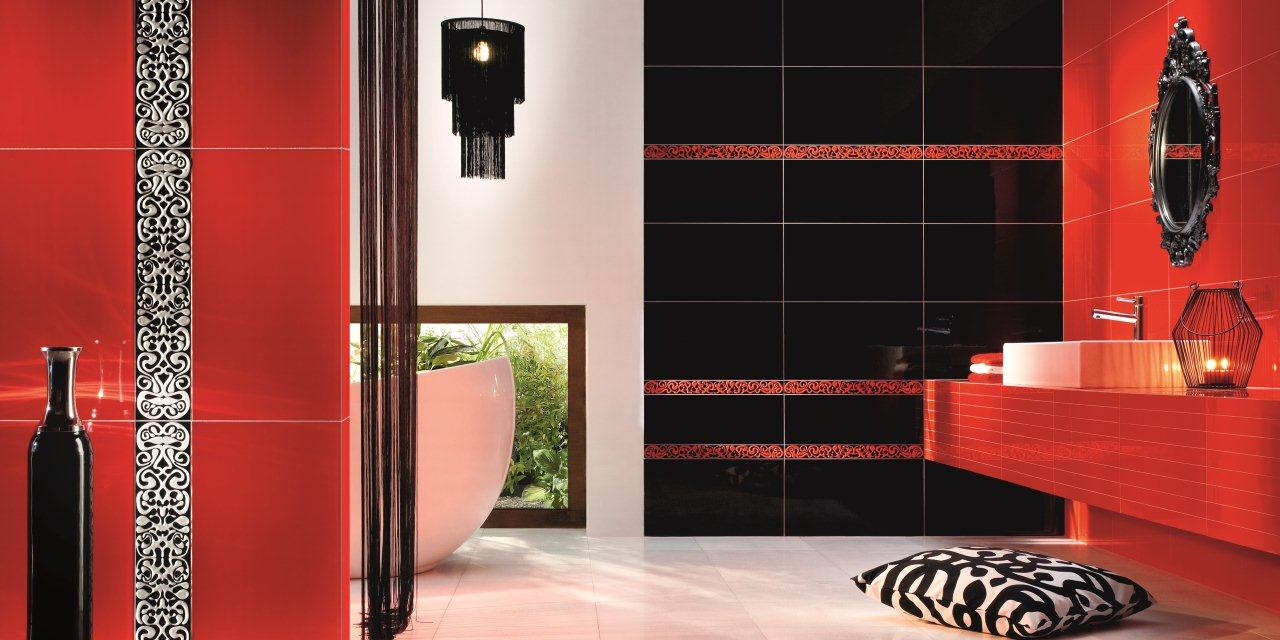 Kolekcja Colour Black&Red marki Tubądzin