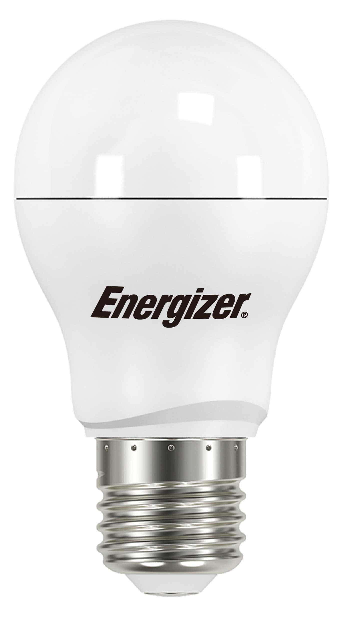 LED z gwintem E27; Energizer