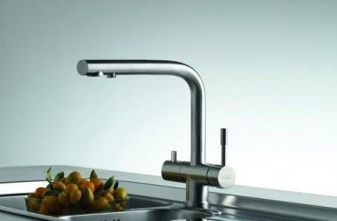 Czysta woda prosto z kranu; system filtrujący Franke