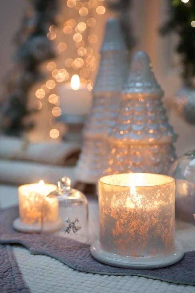 Ozdoby na świąteczny stół - Blanc MariClo