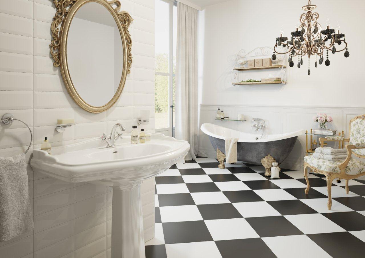 łazienka W Stylu Glamour łazienka