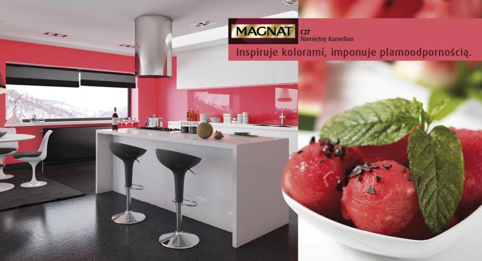 Czerwień - kolor do kuchni