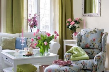 Wiosenne trendy w dekoracji mieszkania