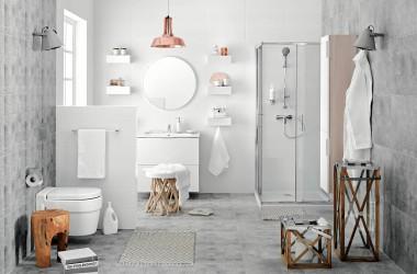 Jasna łazienka – zawsze modna