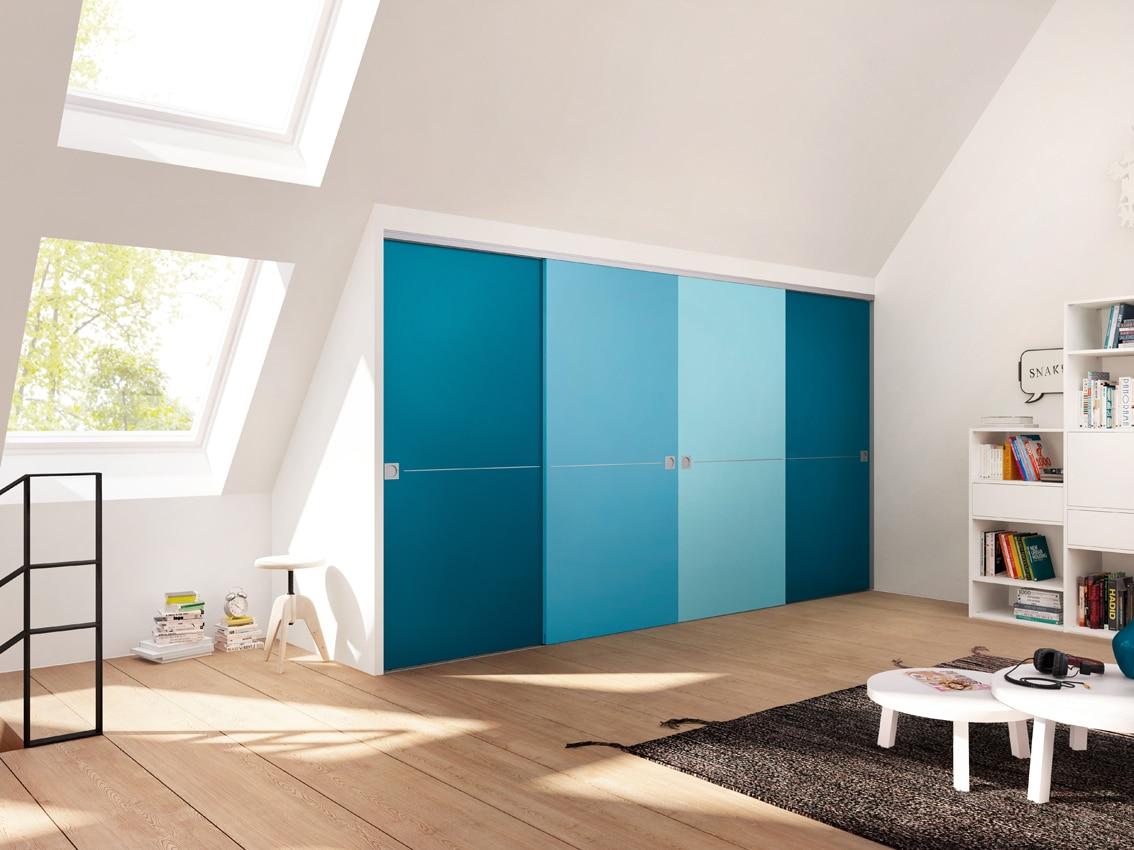 Drzwi Wooden Door i regał Ecoline; Raumplus