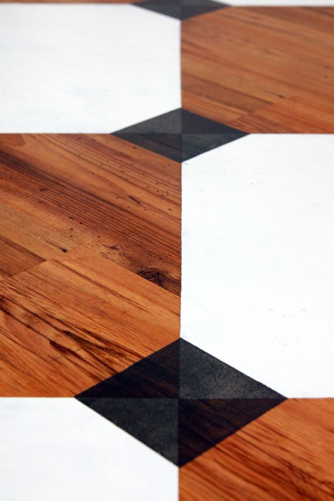 Panele laminowane pomalowane farba V33 Podłogi drewniane & schody