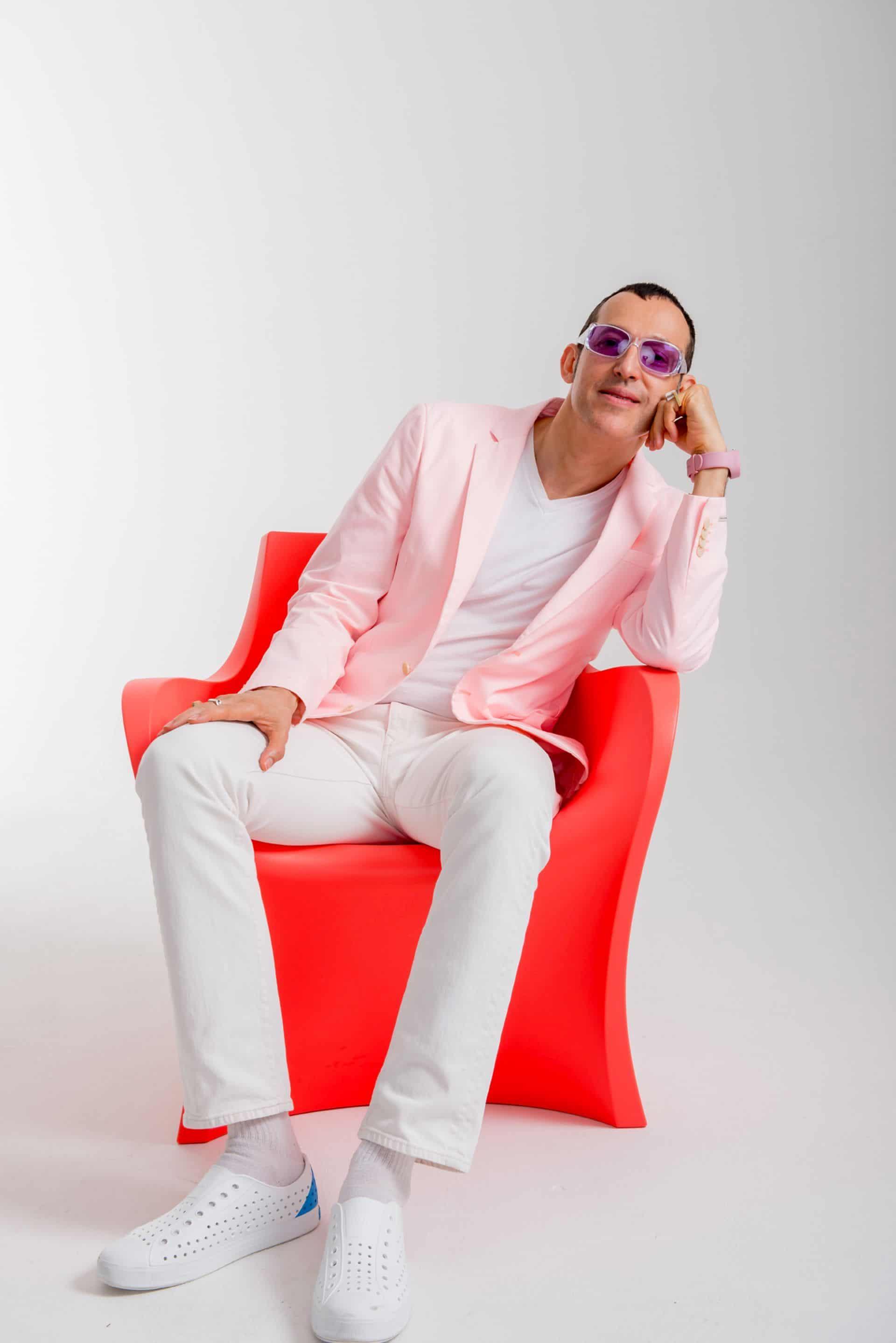 Słynny projektant Karim Rashid