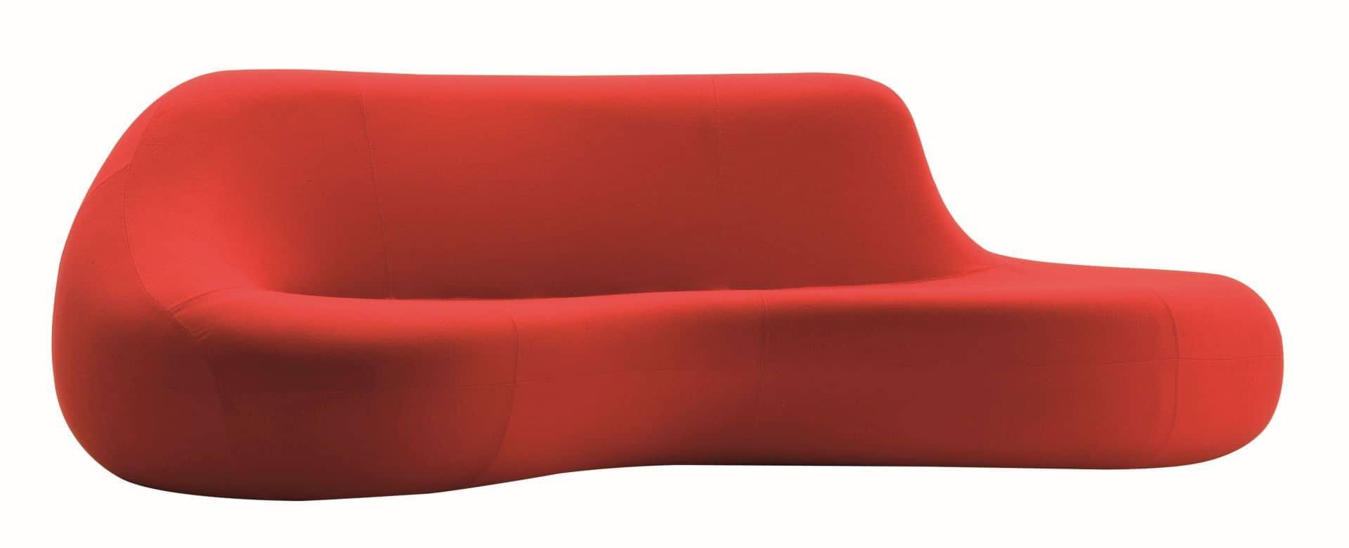 Sofa Koochy dla Zanotta; projekt Karim Rashid