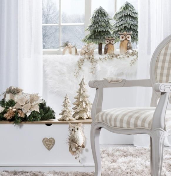 Złoto i biel na Święta; Eurofirany