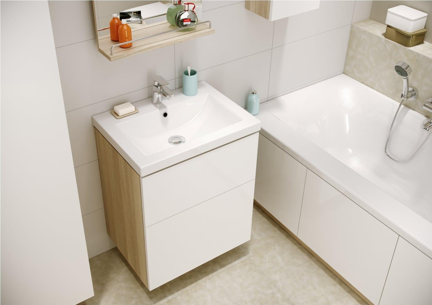 Kolekcja łazienkowa Cersanit Smart