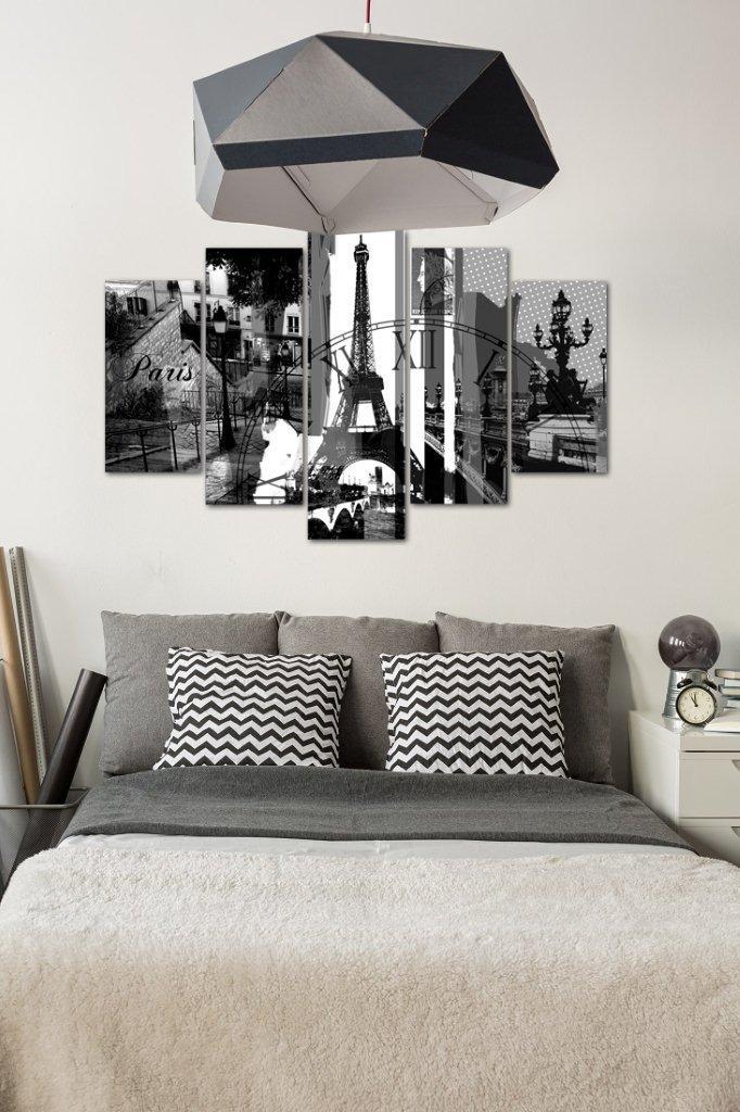 Pięcioczęściowy obraz w stylu paryskim