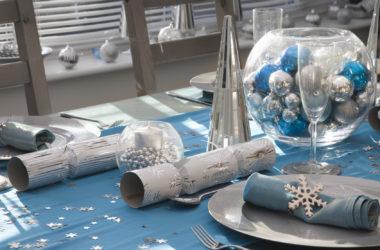 Karnawałowy stół – błysk, połysk i lśnienie luksusu