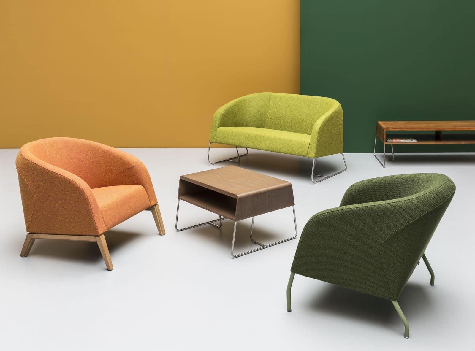 Fotele Noti - zieleń w biurach na 2017 rok