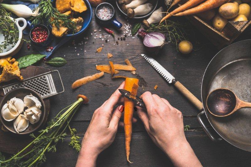 Bioodpady powstają podczas każdego gotowania