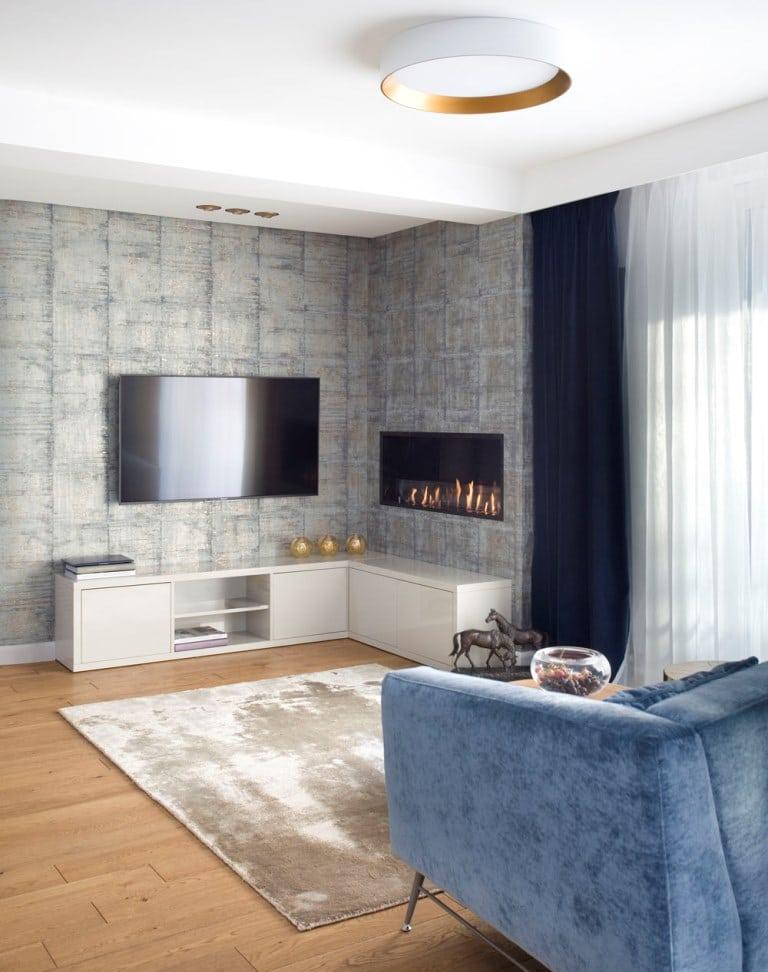 Aneks TV w salonie