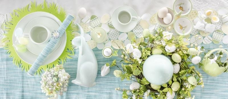 home&you Wielkanoc błękit i biel