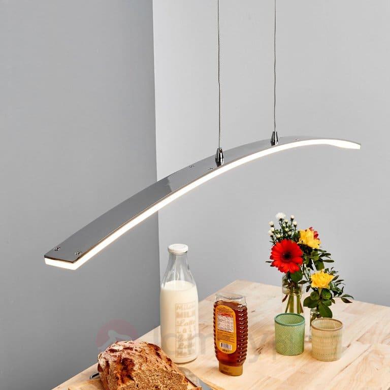 Lampa wisząca LED w kształcie łuku Lorian