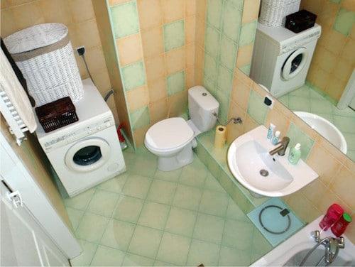 Łazienka przed matamorfozą