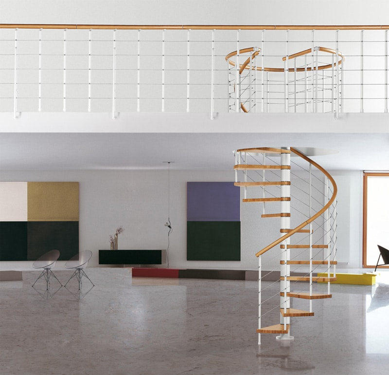 Schody spiralne model Klan Fontanot