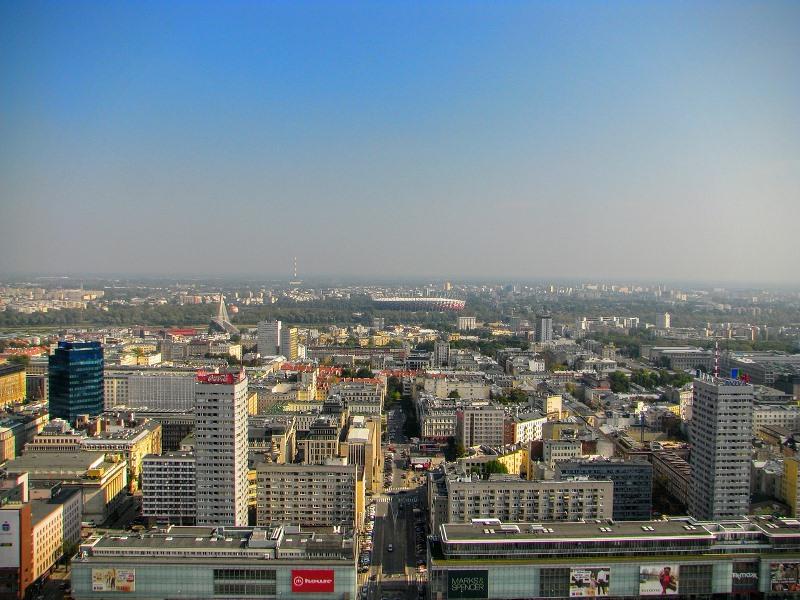 Warszawa z widokiem