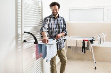 Sprytne sposoby na suszenie prania w domu
