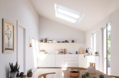 Czy okna dachowe w kuchni i łazience muszą parować?