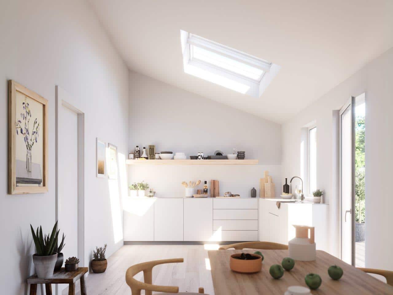 Okna dachowe odporne na wilgoć; Velux