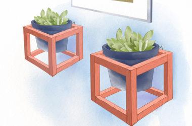 Dekoracja DIY – czyli kwietniki wykonane samodzielnie