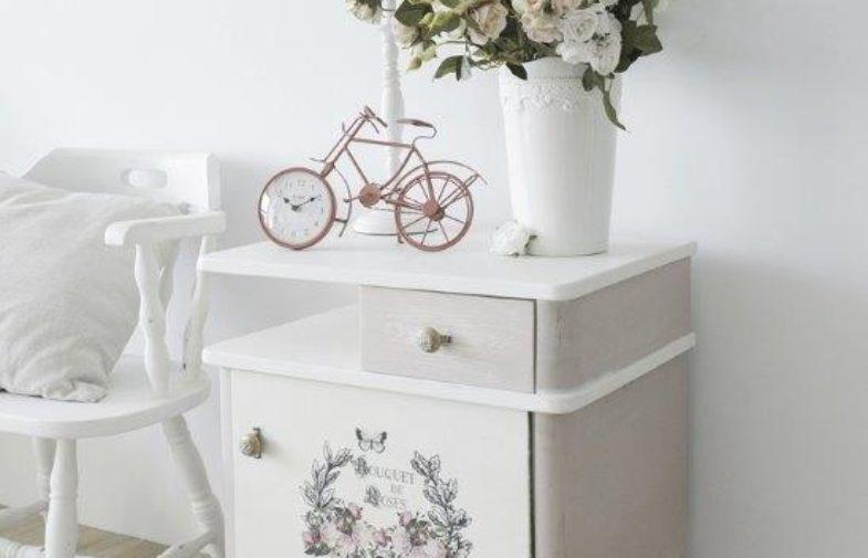 DIY, czyli zrób to sam – odnawianie szafki nocnej