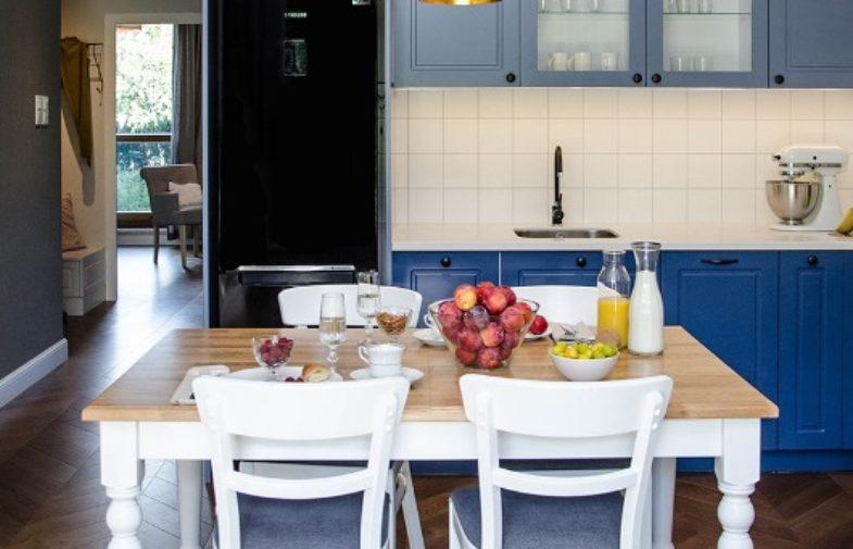 Mieszkanie pełne błękitu
