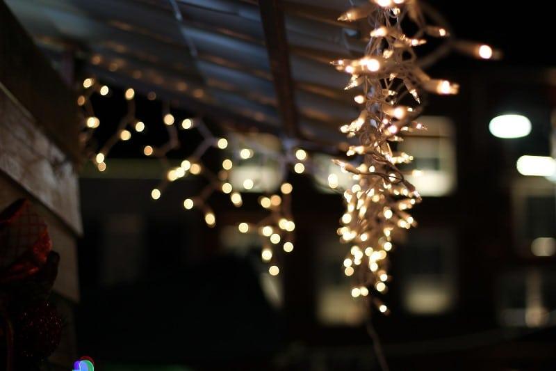 Świetlne ozdoby bożonarodzeniowe