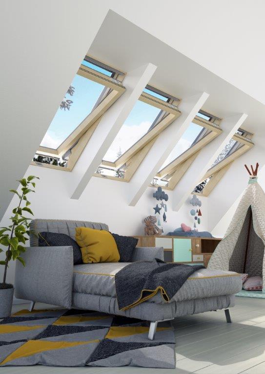 Okna dachowe Okpol model ISO I6