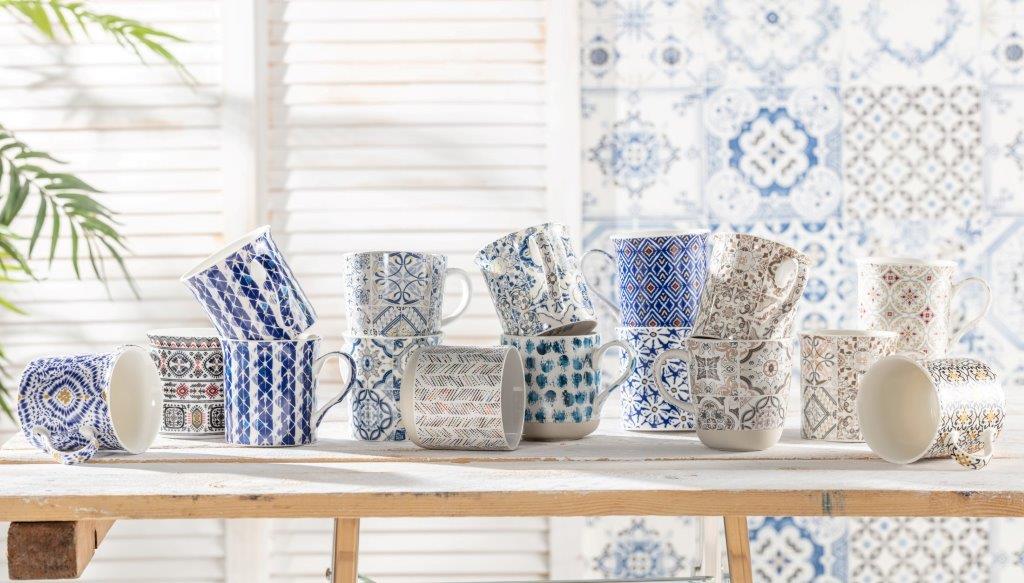 porcelana Italy Design, kolekcja Casa Dekor, Camouflage, Ethnic