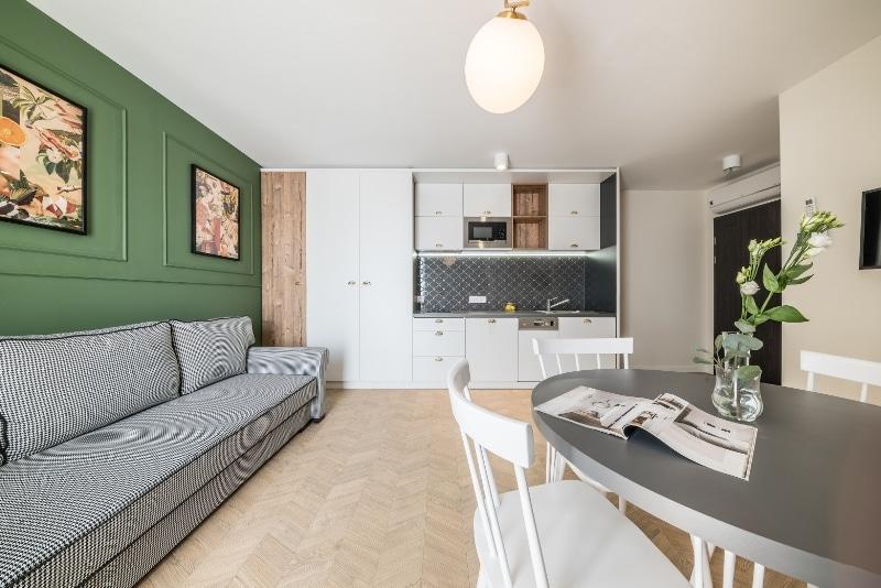 Mieszkanie w stylu Art Deco - Grid Studio Projektowe