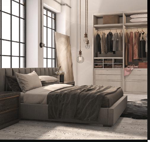 Wygodna sypialnia