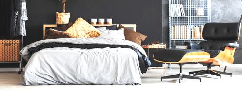 Łóżko z materacem Curem