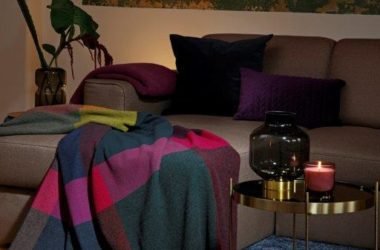 Jesienne tkaniny w mieszkaniu