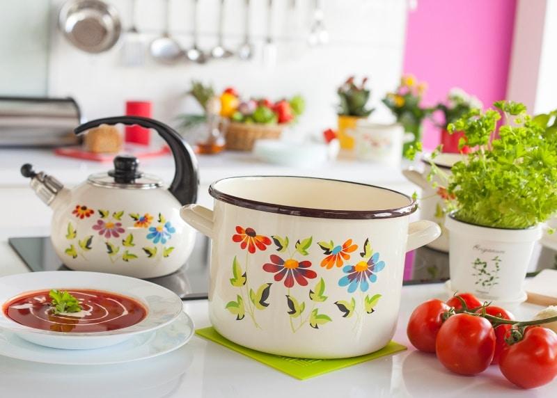 Galicja dla Twojego Domu malowane naczynia emaliowane