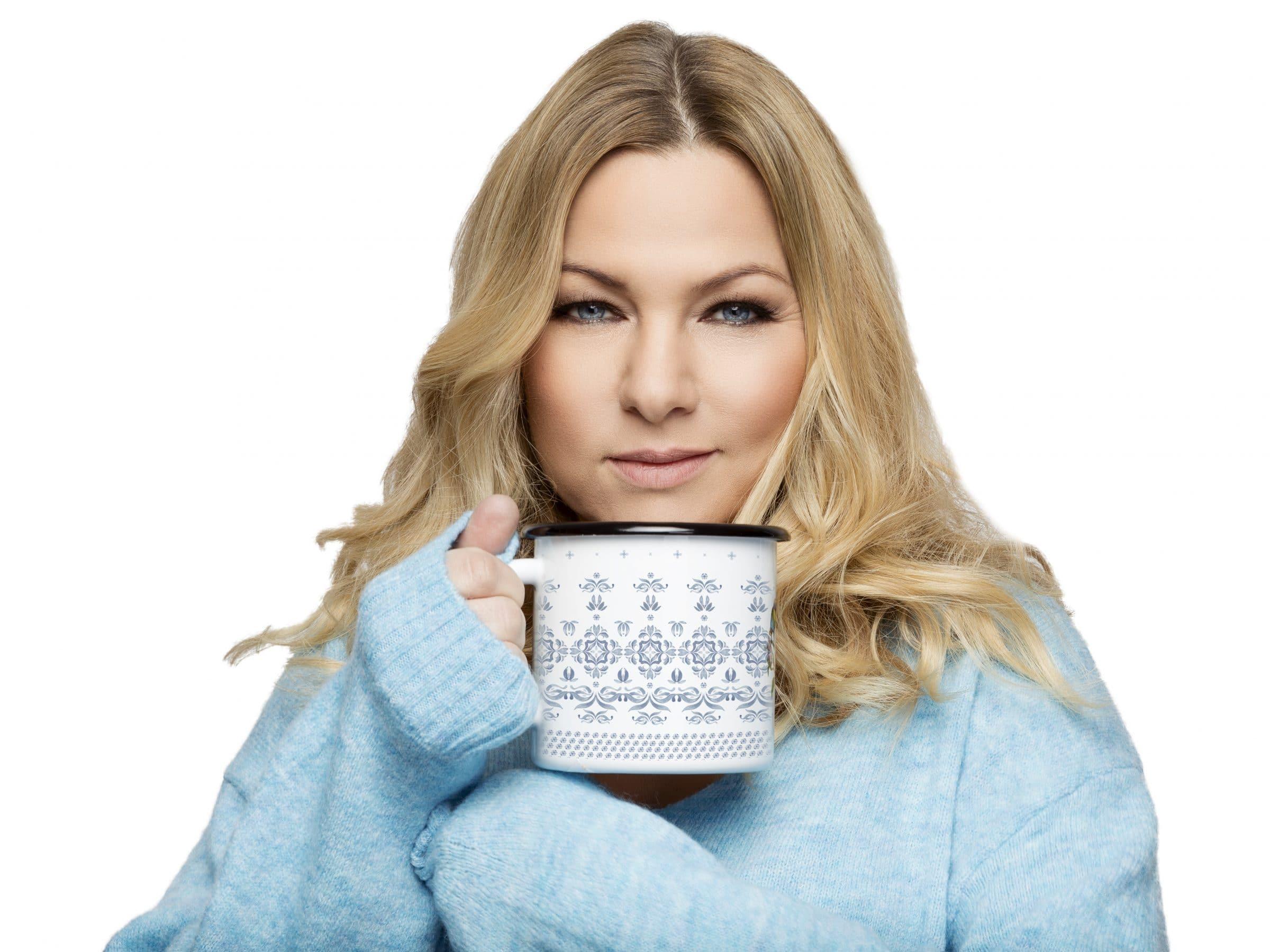 Kasia Bujakiewicz - ambasadorka marki Florina - naczynie z serii Majolica