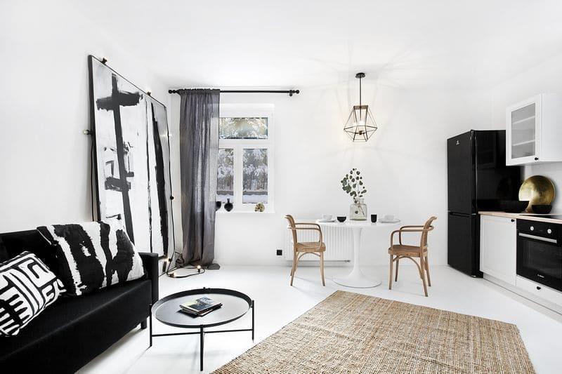 pokój z aneksem kuchennym Studio Loko