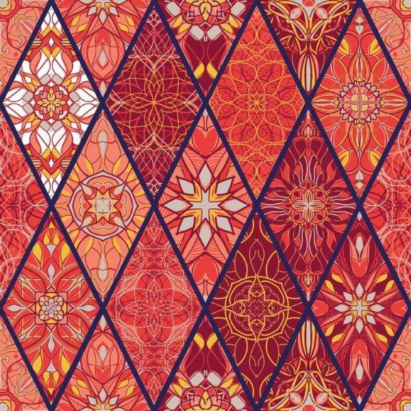 Fototapeta w modnym kolorze koralowym
