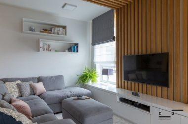 Mieszkanie w stylu skandynawskim ocieplone drewnem – czyli styl hygge