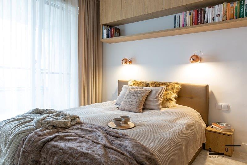 Sypialnia w stylu hygge