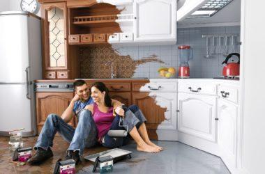 Szybki remont kuchni bez skuwania kafli