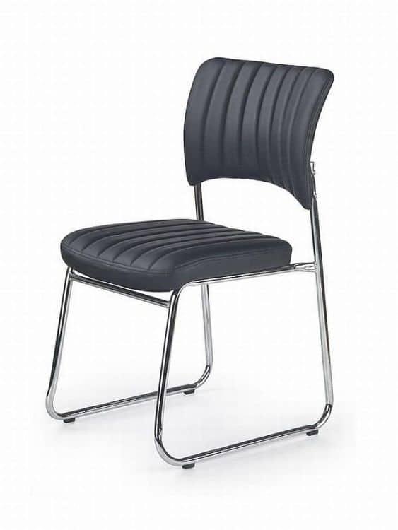 Krzesło biurowe na płozach