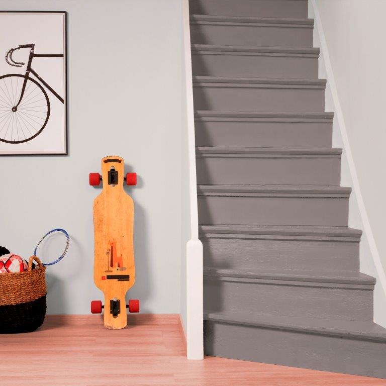 Dulux Szybka Odnowa podłogi i schody - ciemny beż